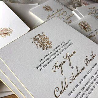 Four Steps to Creating Your Wedding Stationery Suite